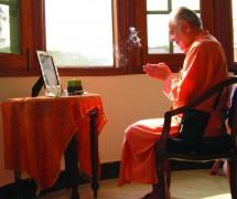 Swami-praying